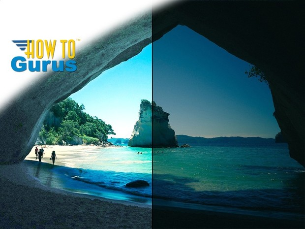 How to Lighten and Fix a Tricky Dark Photograph in Photoshop Elements 11 12 13 14 Tutorial