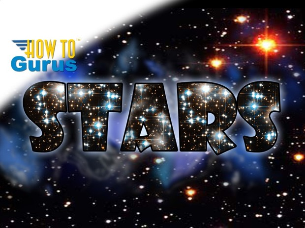 How to Make a Nebula and Stars Text Effect in Photoshop CS5 CS6 CC Tutorial