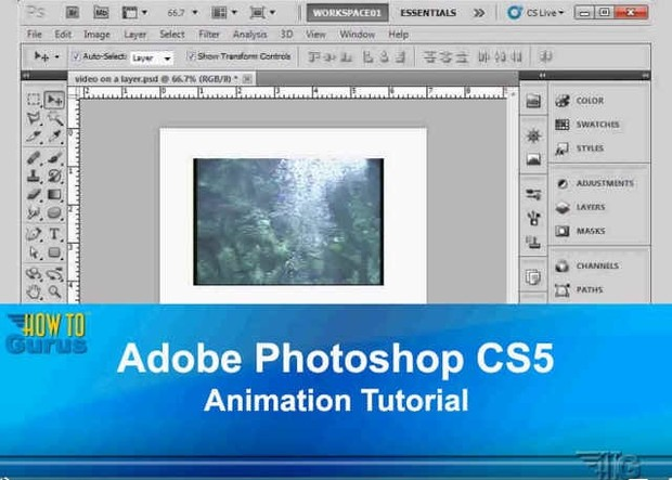 How to create Animation in Photoshop using the Animation Timeline