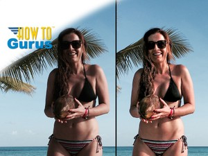 How to Fix and Remove Shadows on People Photos in Adobe Photoshop Elements 15 14 13 12 11