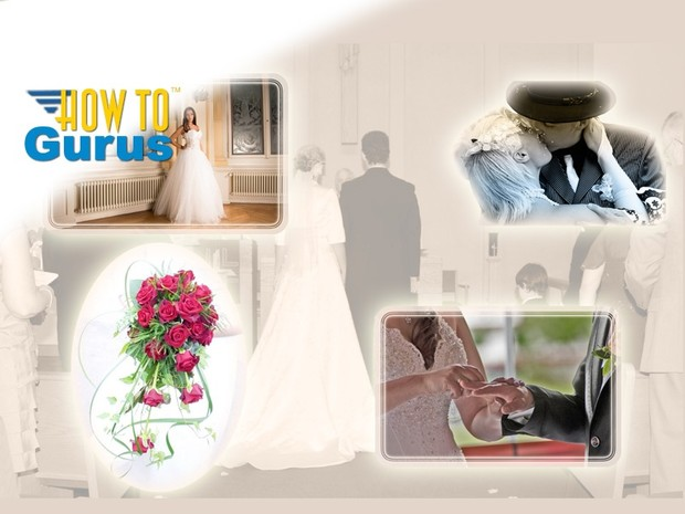 How to create Wedding Montages and Collages in Photoshop CS5 CS6 CC Tutorial