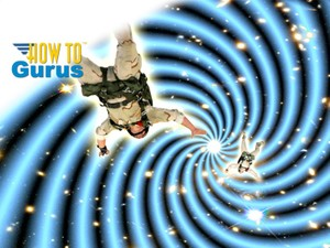How to do a Sci-Fi Space Warp Photo Manipulation in Photoshop Elements 14 13 12 11 Tutorial