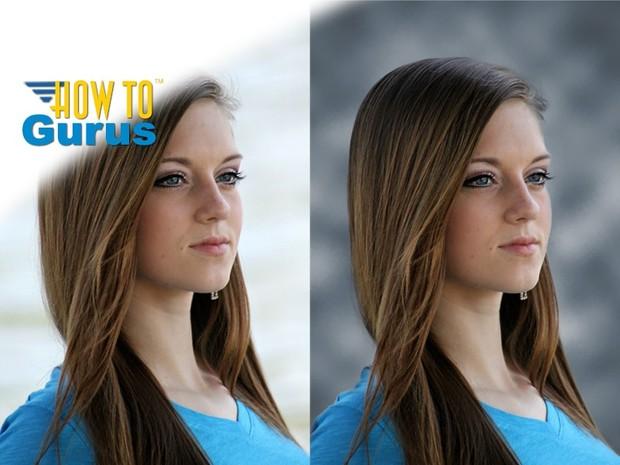 Custom Design Studio Photography Background Change in Photoshop Elements 11 12 13 14 Tutorial