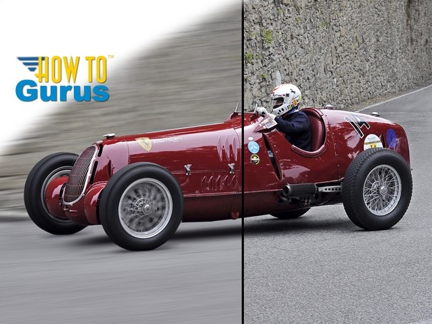 How to Create a Motion Blur Effect in Photoshop Elements 14 13 12 11 Tutorial