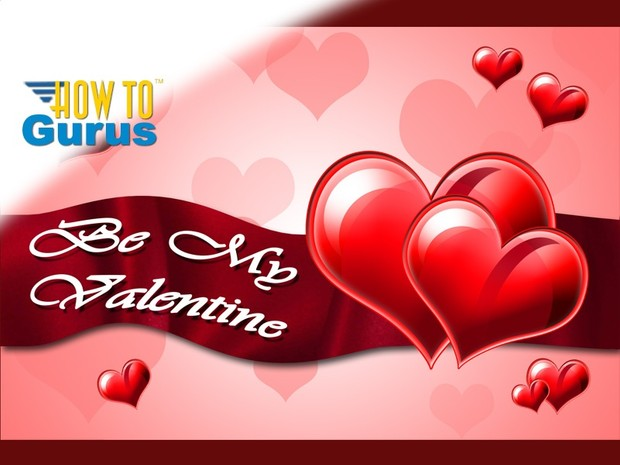 How to make a Valentines Day Card in Photoshop Elements 11 12 13 14 PSE Tutorial