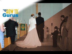 How to give a Photo an Old Fashion Aged Look for Wedding Photography in Photoshop Elements