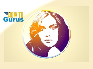 How to Create a Circular Portrait Logo in Photoshop Elements 11 12 13 14 Tutorial
