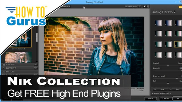 Free! Review Nik Collection Plugins Adobe Photoshop, Photoshop Elements,  Adobe Lightroom Tutorial