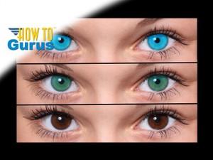 How do an Eye Color Change effect in Photoshop, a CS5 CS6 CC Tutorial