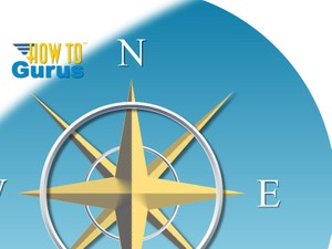 CorelDRAW for Beginners How To Make a Compass Rose using Bevel and Star Shapes Draw X8 X7 X6