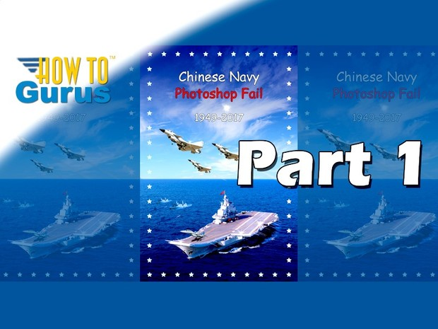 How to Recreate Chinese Navy Poster Photoshop Fail Adobe Photoshop Elements 15 14 13 12 11 Part 1