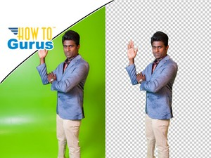 Photoshop Elements Green Screen Removal: How to Cut Out Image in 15 14 13 12 11 Tutorial