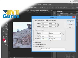 How to Change Size and Resolution in Photoshop - CS5 CS6 CC Tutorial