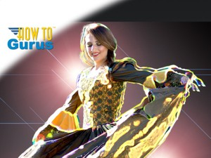 How to Create a Glowing Light Streaks Photo Manipulation in Photoshop Elements 14 13 12 11 Tutorial