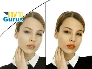 Photoshop Elements Airbrush Makeup Enhancement: How to Improve Makeup a 15 14 13 12 11 Tutorial