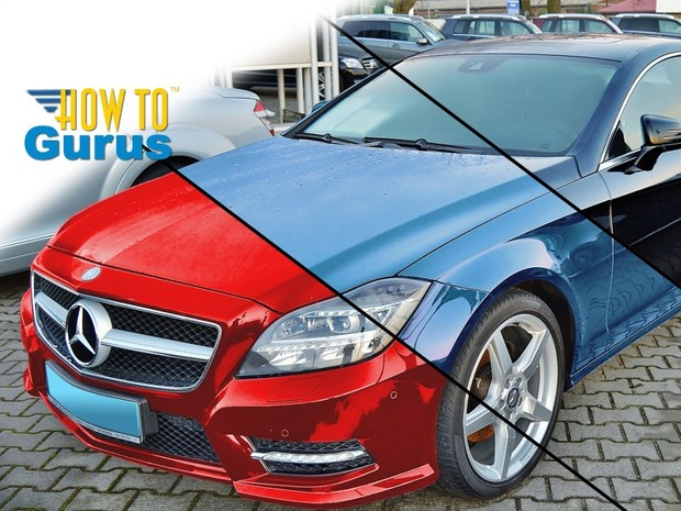 How to Change the Color of a Black Car in Photoshop Elements 14 13 12 11 Tutorial