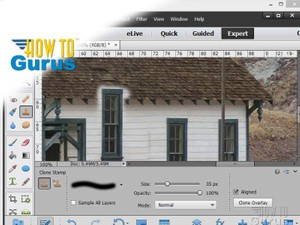 How to Use the Adobe Photoshop Elements 13 Clone Stamp Tool