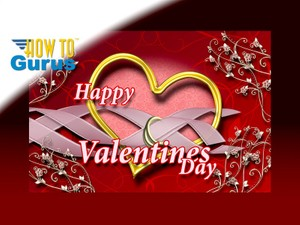 How To Make an Elegant Valentine Card in Photoshop Elements 15 14 13 12 11 Tutorial