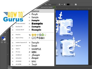 Photoshop Fonts Download : How to Find and Install Fonts in Photoshop CC CS6 CS5 Tutorial
