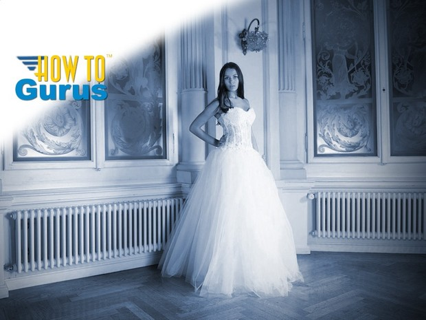 How to Change Color to Monochrome Duotone in Photoshop Elements 11 12 13 14 Tutorial
