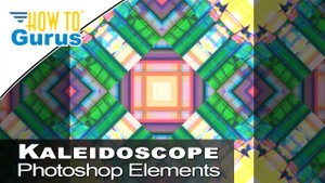 Photoshop Elements Kaleidoscope using Layers and Blend Modes in 2018 15 14 13 12 11 Tutorial