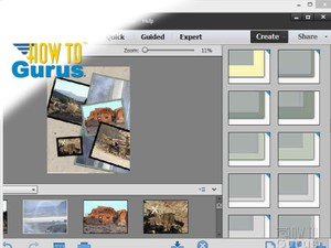 How to do a Adobe Photoshop Elements 13 Collage - a Photoshop Elements 13 Tutorial