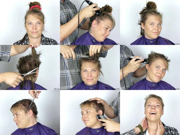 Paula's Pixie Cut