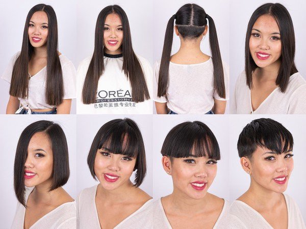 Maya Hair Play and Haircut in Stages