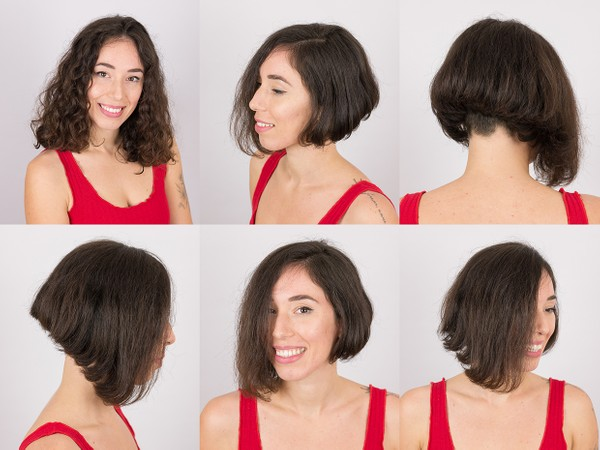 Photo Set - Lorena Bob Haircut