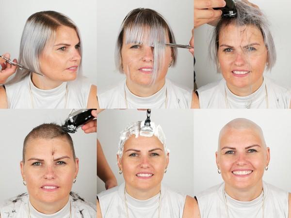 Aimee Bald Shave