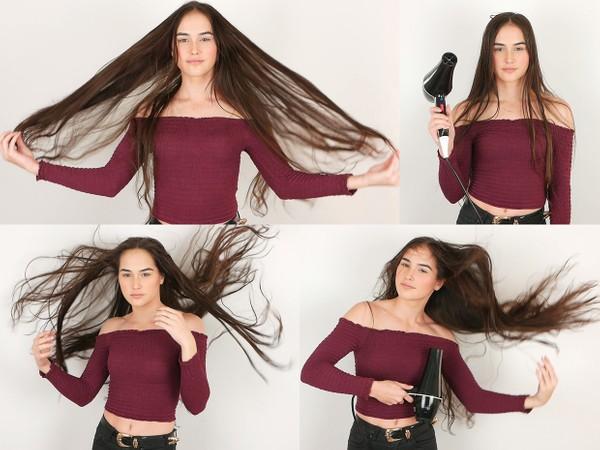 Bonnie Hair in Wind 3