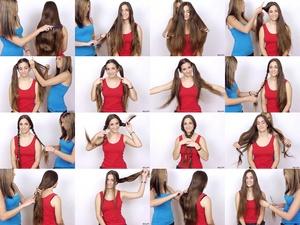Tina & Siani's Long Hair Play & Trim