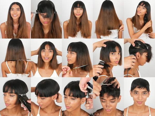 Niki Pixie Haircut