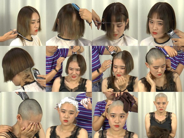 Miss Song Bald Shave