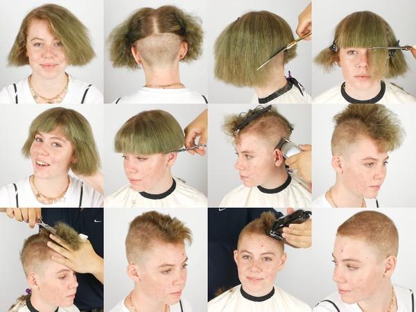 Rachel Buzz Haircut