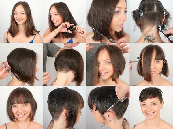 Jacqueline Pixie Haircut