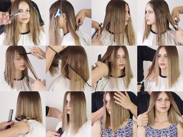 Harisa Long Bob Haircut Part 2