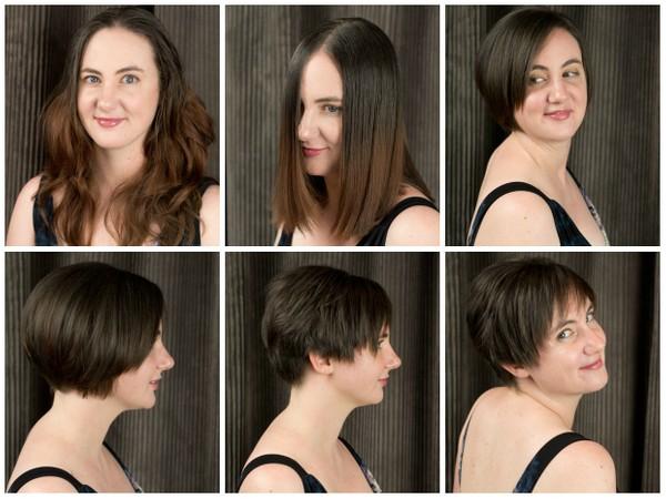 Caitlin's Pixie Haircut