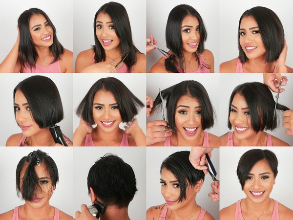 Adriana Pixie Haircut