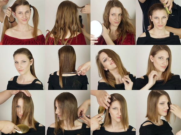 Vanja Bob Haircut and Style Makeover