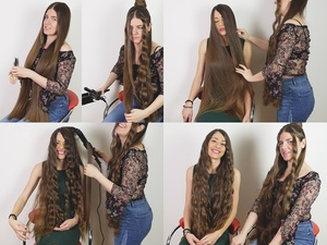 Suzana and Helena Curls Styles