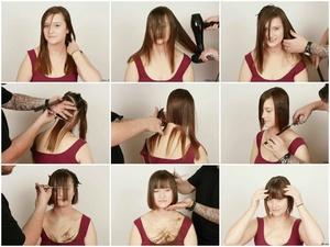 Stephanie's Box Bob Haircut