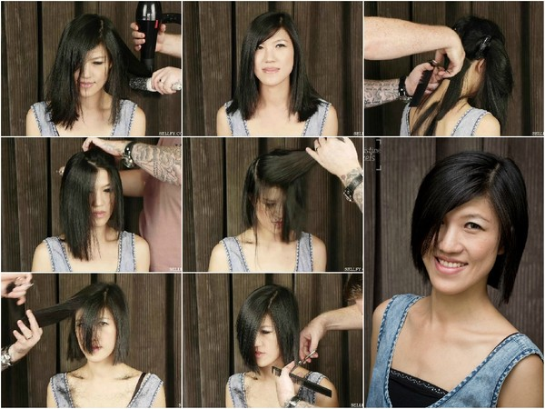 Mina's Bob Haircut