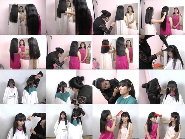 Friends Hair Trim & Bangs