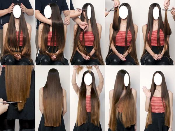 Davina Scissor Play and Hair Trim 3