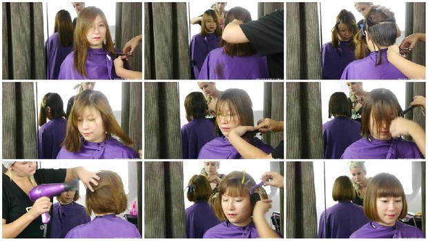 Wendy's Bob Haircut