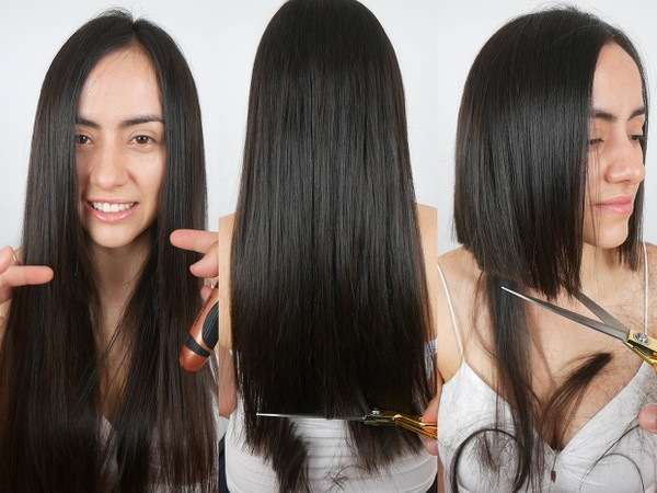 Johanna POV Hair Play and Bob Haircut (COMBO)