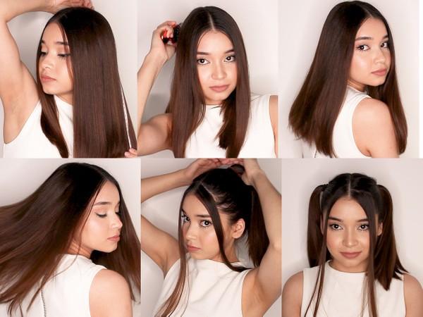 Yaniva Shoulder Length Trim and Hair Play 5