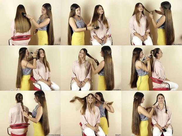 Tatjana Hair Play