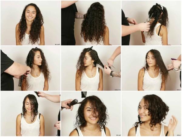 Jade's Long Curly Bob Haircut